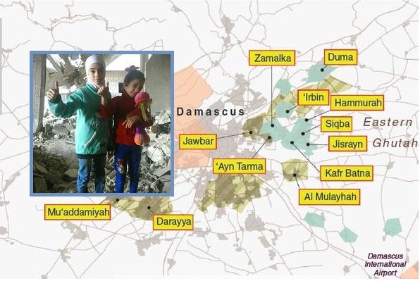 Syrien - Ghouta