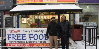 Chicken spot free food