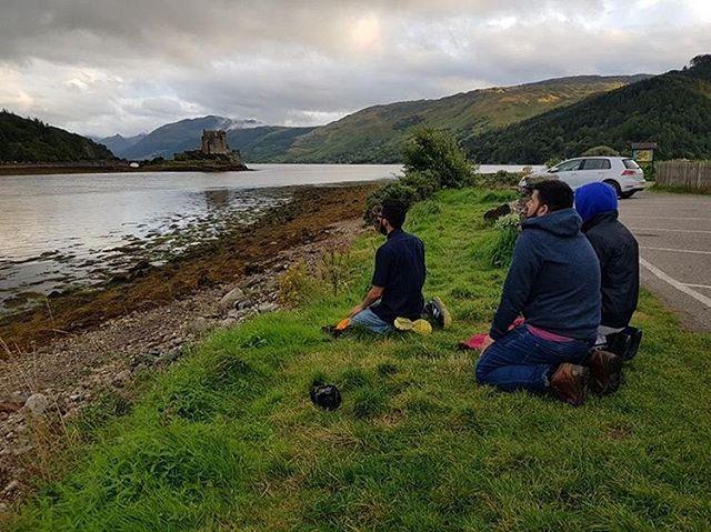 Eilean Donanslottet i Skottland