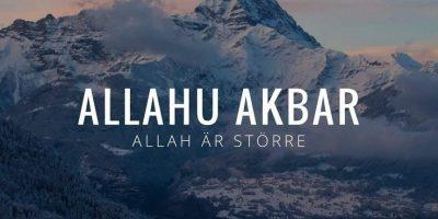 Allah är störst