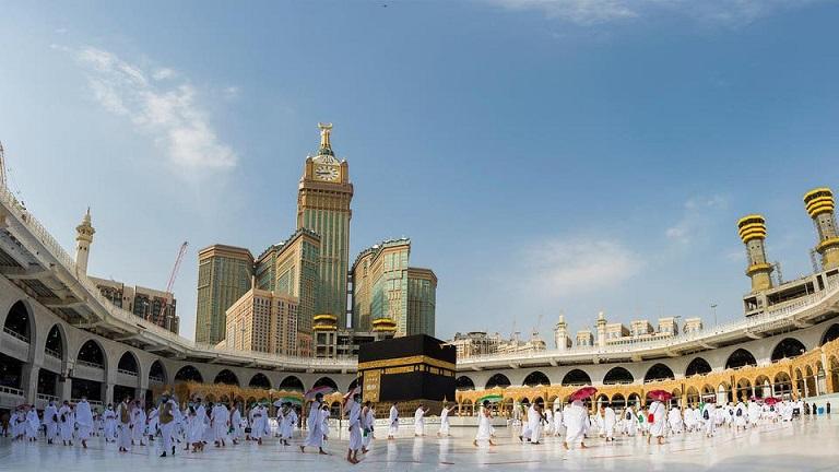 Stora moskén i Mecka.