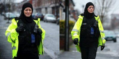 Brittisk poliskvinna
